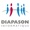 Logo diapason couleur natif