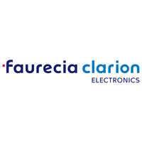 Logo faurecia clarion electronics pantone carr%c3%a9