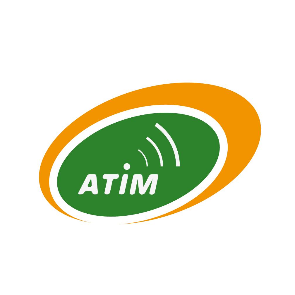 Atim flat square badge