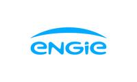 Engie logotype solid blue rgb
