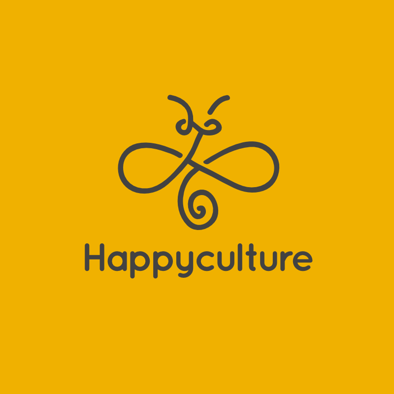 Happyculture round color 650.honey